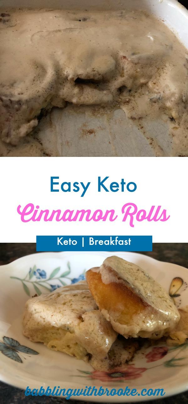 Easy Cinnamon Rolls | Keto Breakfast Recipe
