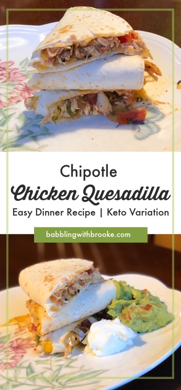 Chipotle Chicken Quesadillas | Easy Dinner Recipes